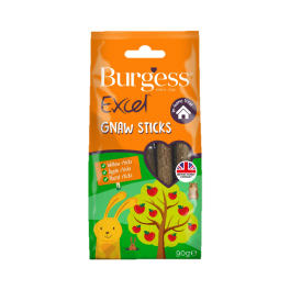 Burgess Excel Gnaw Sticks Small Animal Treats 90g
