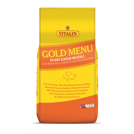 Vitalin Gold Menu Fussy Eater Muesli Adult Dog Food 15kg