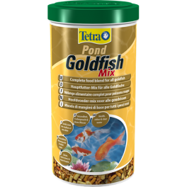 Tetra Pond Goldfish Mix Fish Food 140g