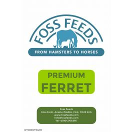 Foss Feeds Premium Ferret Food