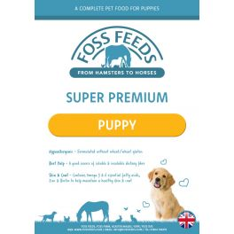 Foss Feeds Sample - Super Premium Puppy Chicken with Rice Dog Food 100g