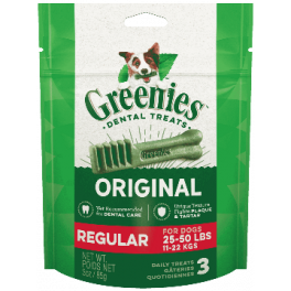 Greenies Dental Dog Treats for Medium Dogs x3