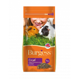 Burgess Excel Adult Guinea Pig Food with Blackcurrant and Oregano 2kg