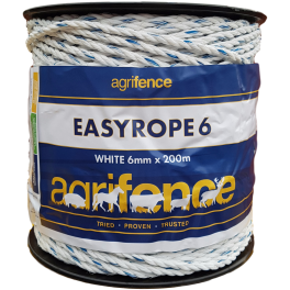 Agrifence Easyrope 6mm x 200m