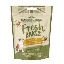 Harrington's Fresh Bakes Low Fat Lean Turkey Dog Treats 100g