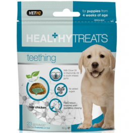 Vetiq Healthy Treats Teething Puppy 50g