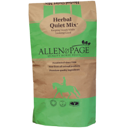 Allen & Page Herbal Quiet Mix Horse Food 20kg