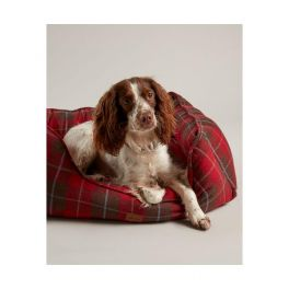 Joules Heritage Tweed Square Pet Bed Small
