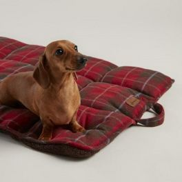 Joules Heritage Tweed Travel Pet Bed