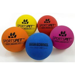 Sportspet High Bounce Ball Dog Toy