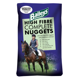 Baileys High Fibre Complete Nuggets Horse Food 20kg