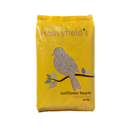 Honeyfield's Sunflower Hearts Wild Bird Food 12.6kg