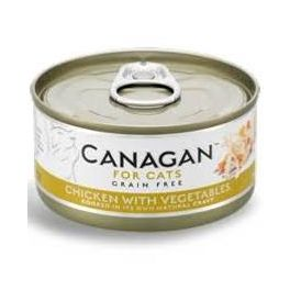 Canagan Chicken with Vegetables Wet Cat Food Tin 75g