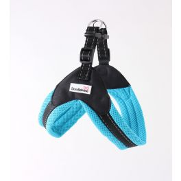 Doodlebone Boomerang Blue Dog Harness