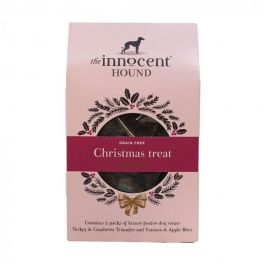 The Innocent Hound Grain Free Christmas  Dog Treat Collection 80g