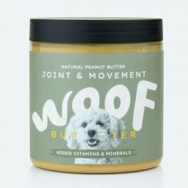 Woof Butter Joint & Movement Peanut Butter For Dogs 250g