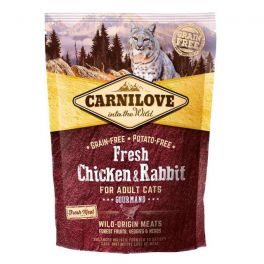 Carnilove Fresh Chicken & Rabbit Dry Cat Food 400g
