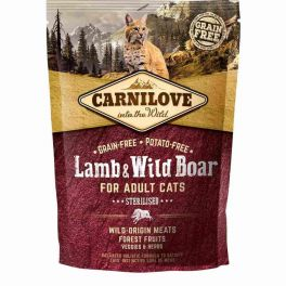 Carnilove Lamb & Wild Boar Dry Cat Food 400g