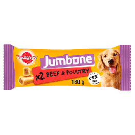 Pedigree Jumbone Medium Dog Treats with Beef 2 Pack 200g