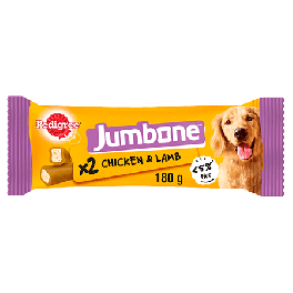 Pedigree Jumbone Medium Dog Treats with Chicken & Rice 2 Pack 200g