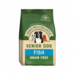 James Wellbeloved Grain Free Fish & Vegetable Senior Dog Food
