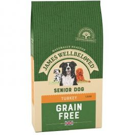 James Wellbeloved Grain Free Turkey & Vegetable Senior Dog Food
