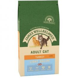 James Wellbeloved Light Cat Food with Turkey 1.5kg