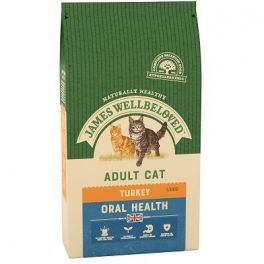 James Wellbeloved Oral Health Cat Food with Turkey 1.5kg