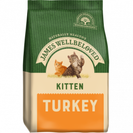 James Wellbeloved Kitten Food with Turkey 1.5kg