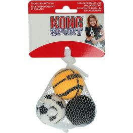 KONG Sport Balls Small 3 Pack Dog Toy