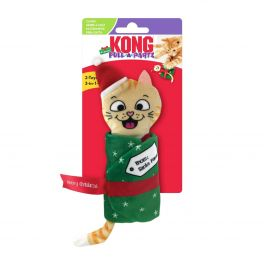 KONG Christmas Pull-A-Partz Cat Toy