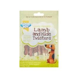 Good Boy Chewy Twists with Lamb Dog Treats 90g