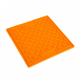 "Lickimatâ""¢ Buddy Large Treat Mat Orange"