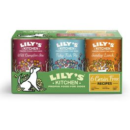 Lily's Kitchen Grain Free Dog Food 6x400g Multipack