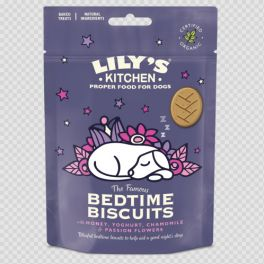 Lily's Kitchen Organic Bedtime Biscuits Dog Treats 80g