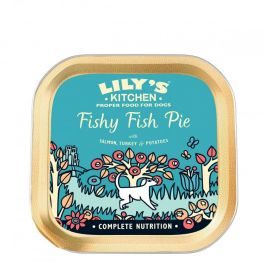 Lily's Kitchen Fishy Fish Pie Dog Food Tray 150g