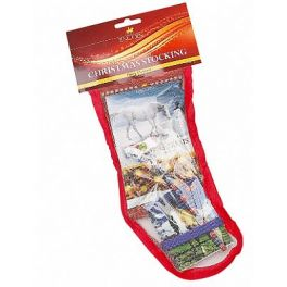 Lincoln Christmas Horse Stocking