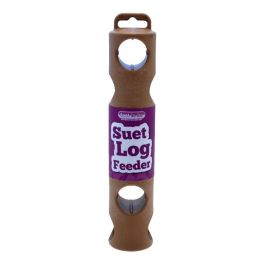 Suet To Go Suet Log Wild Bird Treat Feeder