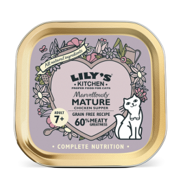 Lily's Kitchen Marvellously Mature Chicken Supper Cat Food 85g Tray