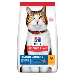 Hill's Science Plan Feline Mature Adult 7+ Cat Food with Chicken