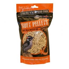 Suet To Go Suet Pellets Mealworm Wild Bird Treats 550g