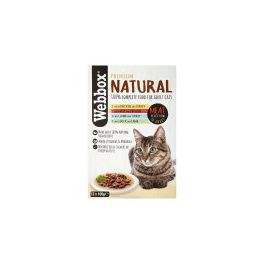Webbox Premium Natural Adult Cat Food Meat Selection in Gravy 12x100g