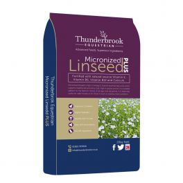 Thunderbrook Micronized Linseed Plus Horse Food 20kg