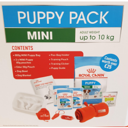 Royal Canin Puppy Pack for Mini Dogs
