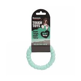 Rosewood Tough Toys Mint Nylon Ring  Dog Chew Toy Small