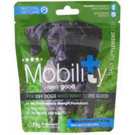 Natural Vetcare Mobility Dog Supplement 75g