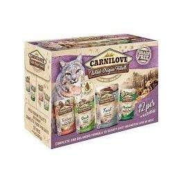Carnilove  Cat Food Pouch Multipack 12x85g