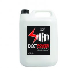 Naf Off Deet Power Performance Equine Repellent Fly Spray Refill 2.5L