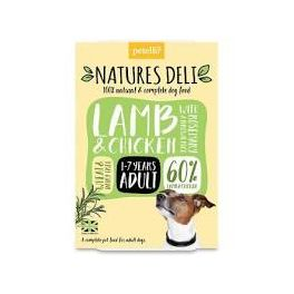 Natures Deli Lamb & Chicken with Rosemary & Brown Rice Wet Dog Food 400g