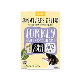 Natures Deli Turkey with Sage & Brown Rice Wet Dog Food 400g